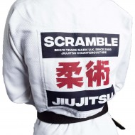 Scramble Kano BJJ Gi White