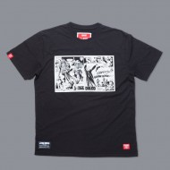 SCRAMBLE X JUDGE DREDD – SAMURAI T-SHIRT