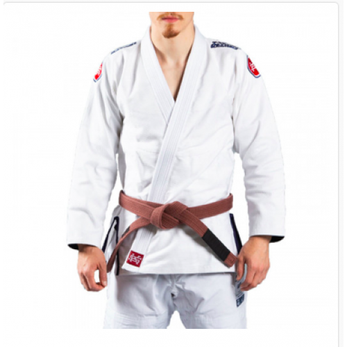 Image of Scramble Athlete V4 450 BJJ Gi White