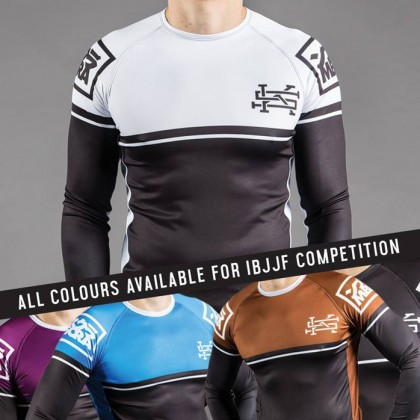 Scramble Ranked Rashguard (V2) - All Colours