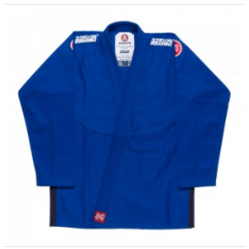 Image of SCRAMBLE ATHLETE V4 450 LADIES BJJ GI BLUE
