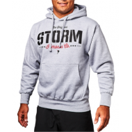 Storm 'Stencil' Hoodie - Heather Grey