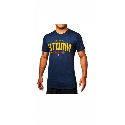Image of Storm 'Stencil' T-Shirt - Navy