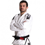 Nova+ Plus BJJ Gi - White - Free White Belt