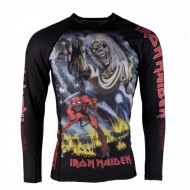 KIDS TATAMI IRON MAIDEN NUMBER OF THE BEAST RASH GUARD