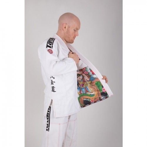 Image of TATAMI JAPAN SERIES - SAMURAI BJJ GI White
