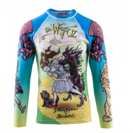 MEERKATSU TAMAMI WHIZZER OF OZ RASH GUARD