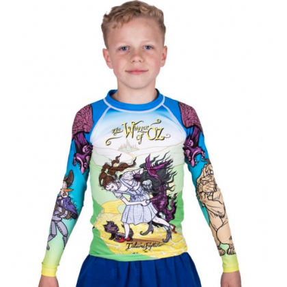 KIDS MEERKATSU TATAMI WHIZZER OF OZ RASH GUARD