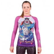 LADIES MEERKATSU TATAMI ALICE IN JIU-JITSU LAND RASH GUARD
