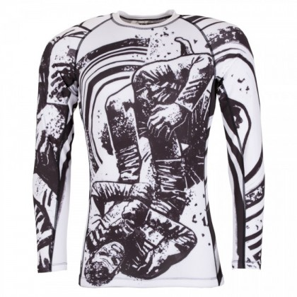 GRAPPLERS COLLECTIVE TRIANGLE RASH GUARD