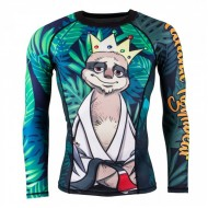 KING SLOTH RASH GUARD