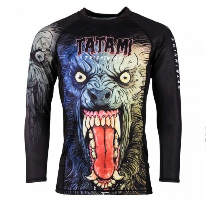 TATAMI FRIGHTWEAR COLLECTION - WEREWOLF RASH GUARD