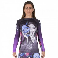 TATAMI LADIES WEEPING HANNYA RASH GUARD