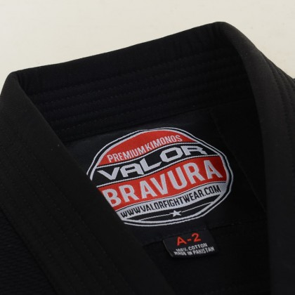 Kids Bravura BJJ GI Black
