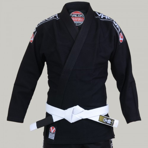 Image of Valor Ladies Valor Bravura BJJ GI Black