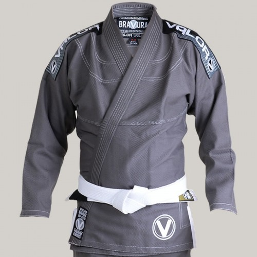 Image of Valor Bravura Deluxe BJJ GI Grey