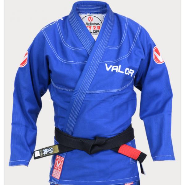 Valor Victory 2 0 Premium Lightweight BJJ GI Blue