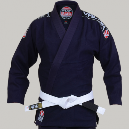 Image of Valor Bravura BJJ GI Navy