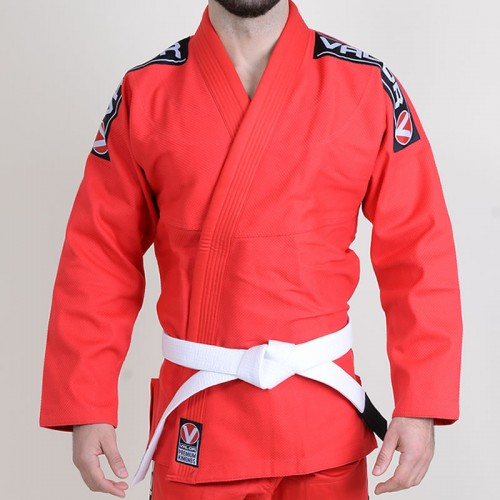 Image of Valor Bravura BJJ GI Red