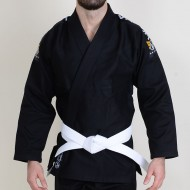 Valor Invicto ultralight BJJ GI Black