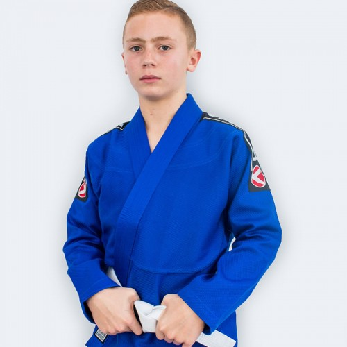 Image of Valor Kids Bravura BJJ GI Blue