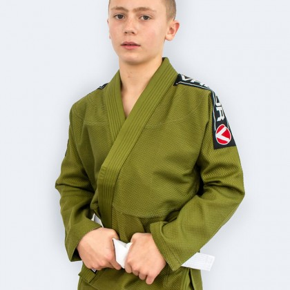 Kids Bravura BJJ GI Green