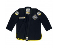 VALOR BLACK LABEL BJJ GI BLACK