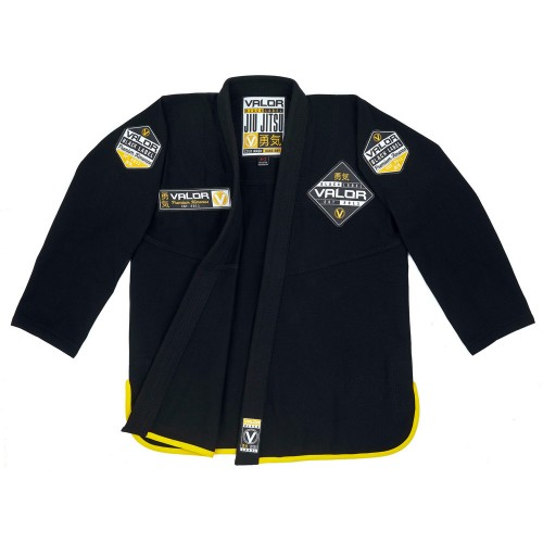 Image of VALOR BLACK LABEL BJJ GI BLACK