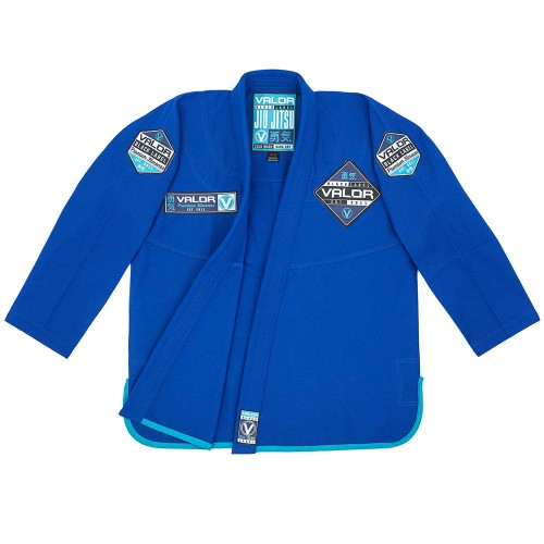 Image of VALOR BLACK LABEL BJJ GI BLUE