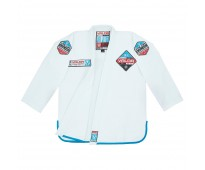 VALOR BLACK LABEL BJJ GI WHITE