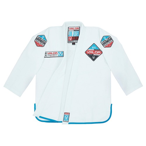 Image of VALOR BLACK LABEL BJJ GI WHITE