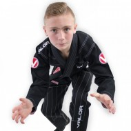 Valor Kids Victory 2.0 Premium Lightweight BJJ GI Black