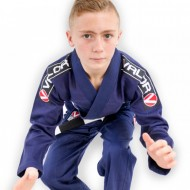 Valor Bravura Kids BJJ Gi Navy