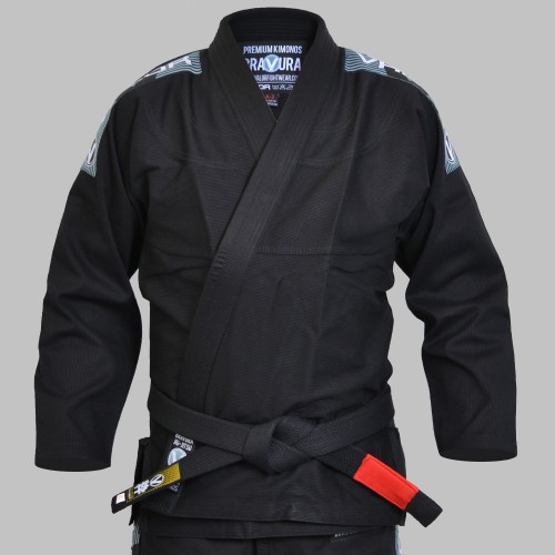 Image of Valor Bravura BJJ GI Black