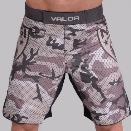 Valor Liquid Camo NO GI Shorts Desert