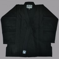 Valor Kanso Plain BJJ Gi Black