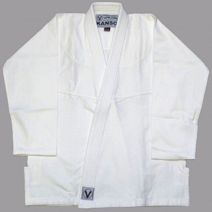 VALOR KANSO PLAIN BJJ GI WHITE