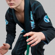 VALOR KIDS VLR SUPERLIGHT BJJ GI BLACK