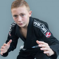 Valor Kids Bravura BJJ GI Black