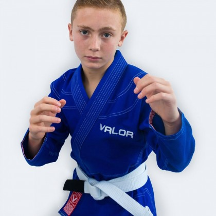 Valor Kids Victory 2.0 Premium Lightweight BJJ GI Blue