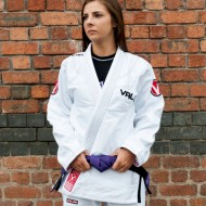 VALOR LADIES VICTORY 2.0 LIGHTWEIGHT GI WHITE