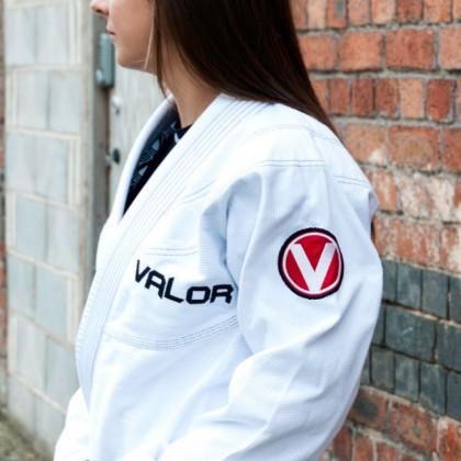 VALOR LADIES VICTORY 2.0 LIGHTWEIGHT GI WHITE