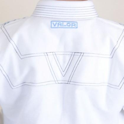 Valor Prime 2.0 Premium Lightweight BJJ GI White