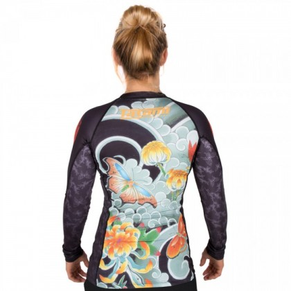 TATAMI JAPAN SERIES - LADIES BUTTERFLY RASH GUARD