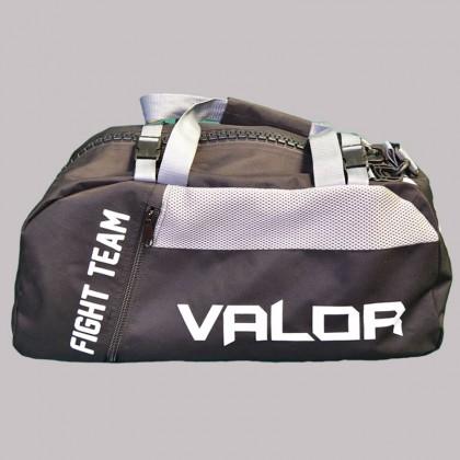 Valor Senshi Convertible Bag Black and Grey