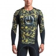 GRIPS ARMADURA 2.0 LONG SLEEVE RASH GUARD WOODLAND CAMO