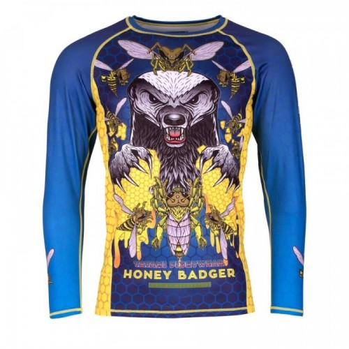 Image of HONEY BADGER V5 RASH GUARD