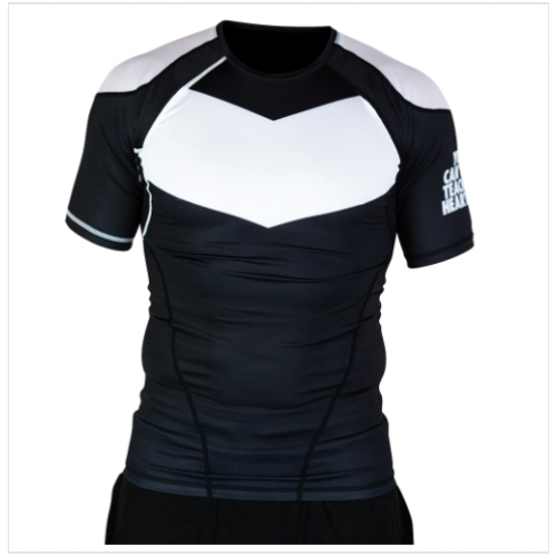 Image of Hyperfly ProComp Supreme Short Sleeved Rash Guard Black