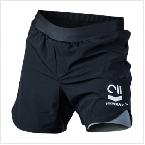 Image of HYPERFLY ICON GRAPPLING SHORTS BLACK