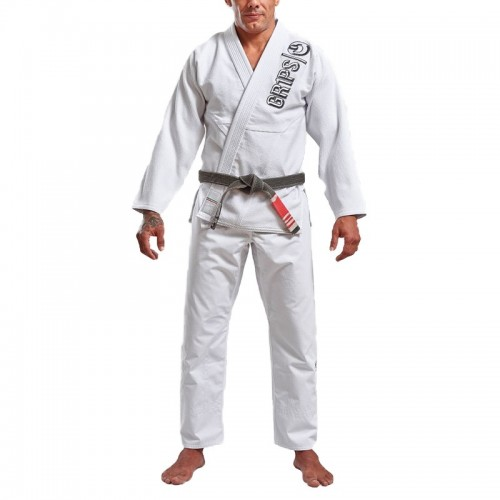 Image of GRIPS ATHLETICS THE ITALIAN BJJ GI WHITE
